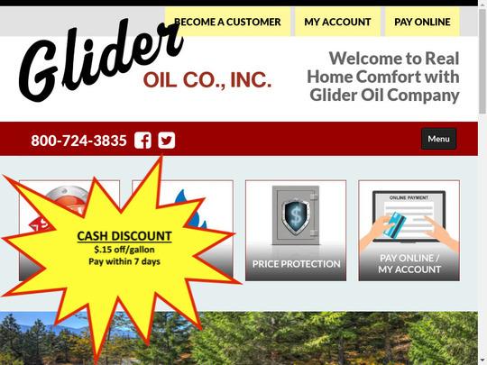 Glider Oil Co Inc, NY screenshot