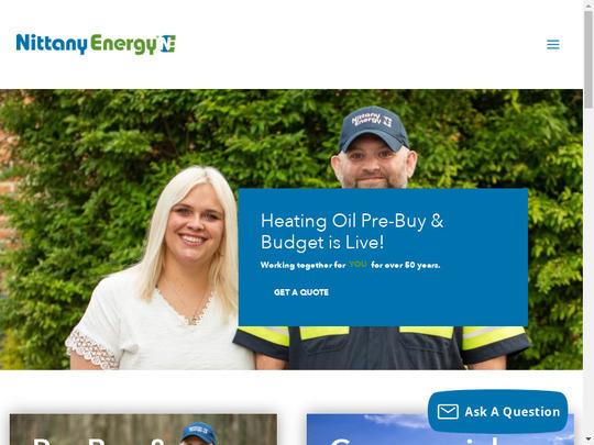 Nittany Oil Co, PA screenshot