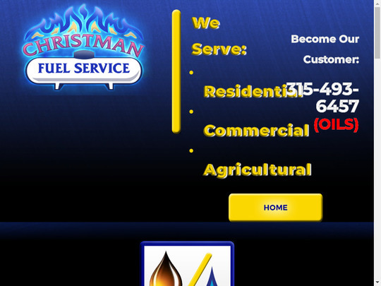 Christman Fuel Service, NY screenshot