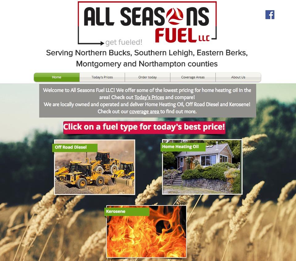 $2 20 All Seasons Fuel LLC, PA, 18036 - compare Heating oil