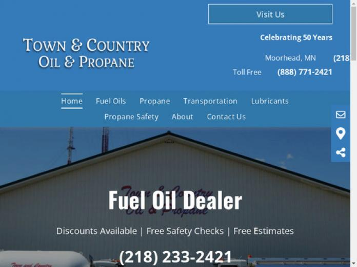 Town & Country Oil & Propane, MN, 56560 - compare Propane, Heating