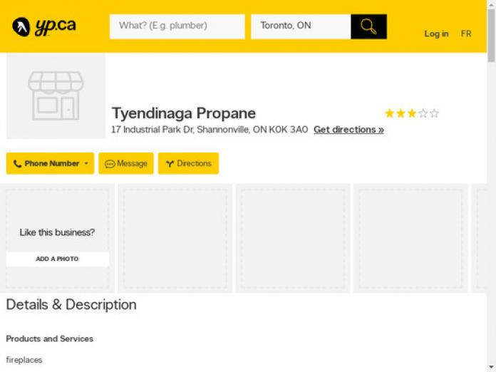 Tyendinaga Propane, ON, K0K 3A0 - compare Propane prices