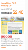 Example heating fuel vendor website and price