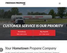 Freeman Propane, MI screenshot