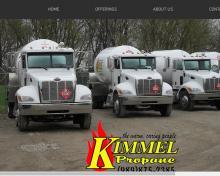 Kimmel Propane Inc, MI screenshot