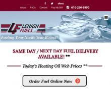 Lehigh Fuels, PA screenshot