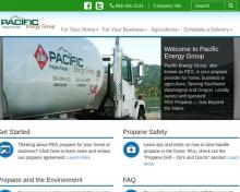 Pacific Energy Group, WA screenshot