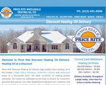 Price Rite Wholesale Oil Co, PA screenshot