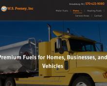 W S Peeney Inc, PA screenshot