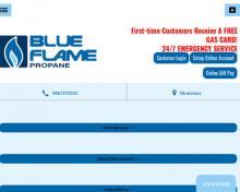 Blue Flame Propane Inc, MI screenshot