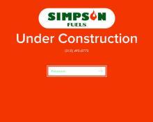 Simpson Fuels, NY screenshot