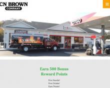 C N Brown Heating Oil, ME screenshot