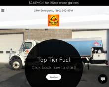 Top Tier Fuel LLC, CT screenshot