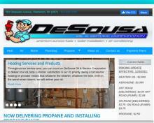 De Sousa Oil & Svc Corp, PA screenshot